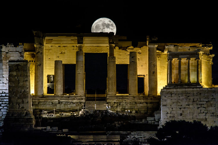 HyperMoon You thought you listened to her jerk as she stumbled An Eye For Travel 300mm Full Moon HyperMoon Nikon Parthenon Acropolis Greece Ancient Ancient Civilization Archaeology Architectural Column Architecture Athens Building Exterior Built Structure History Moon Night No People Old Ruin Outdoors Singleshot Sky Supermoon2016 Tourism Travel Travel Destinations