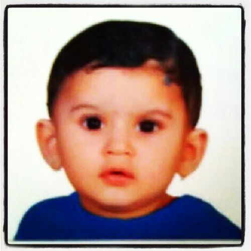 Cute Rishabh Pp He had his first pasport size photo session..