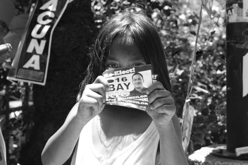 Close-up Day Election Halalan2016 Headshot Kid Outdoors Selective Focus