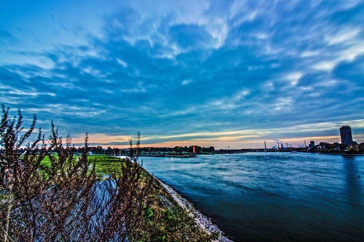 Ruhrgebiet Ruhrpottromantik Rhein Ruhrort Homberg