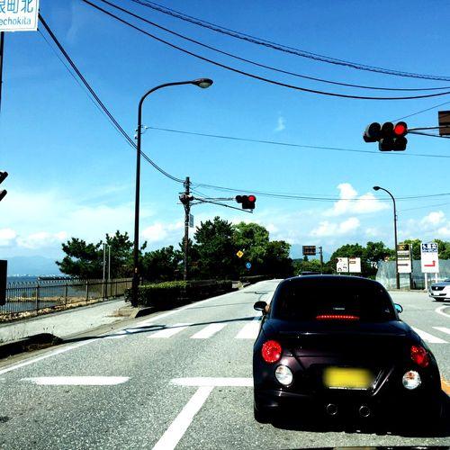 🚘 My Car Copen Lake Biwa Sky Driving GoodTimes Nice Day