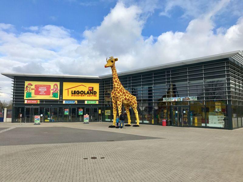 Legoland Discovery in the Centro shopping mall complex in Oberhausen, Germany. Centro Oberhausen Shopping Mall Germany LEGO Legoland