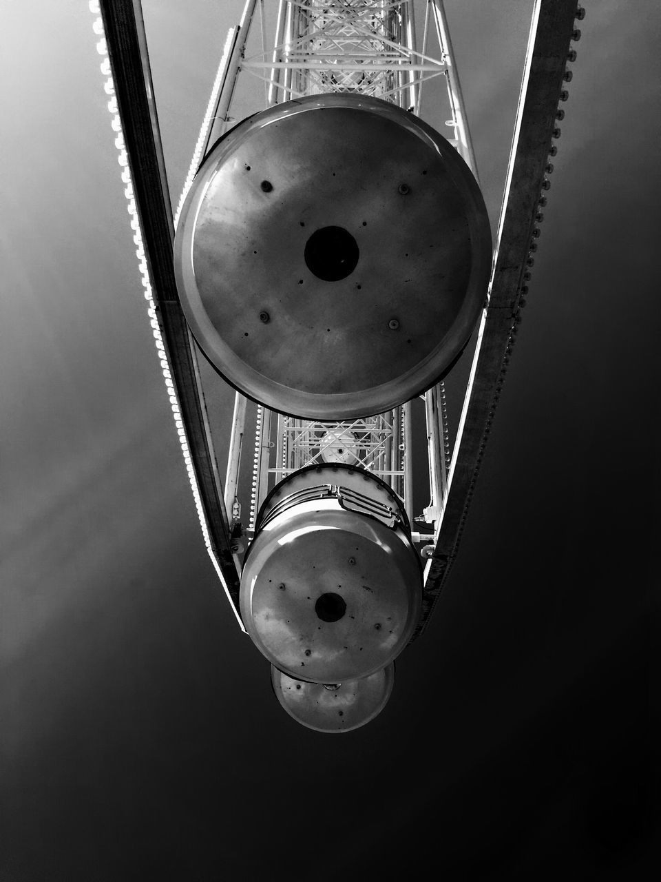 LOW ANGLE VIEW OF LAMP