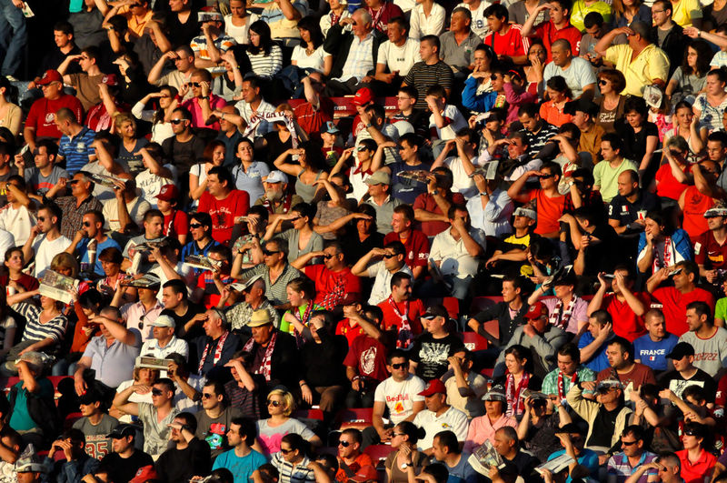 Crowd of people in a stadium at a sport event Championship Crowd Crowd Of People Crowded Crowded People Crowded Place Crowds Enthusiasm Event Fans Football Gathering Group Of People Hooligans Mass Match People People Together Soccer Spectators Sport Stadium Stadium Atmosphere Supporters Tribune