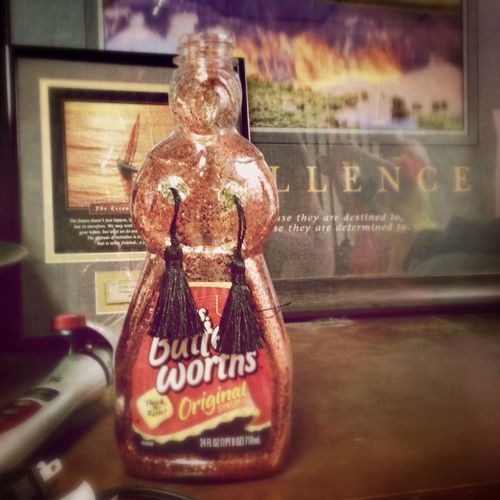 Mrs. Butterworth has a naughty side Burlesque