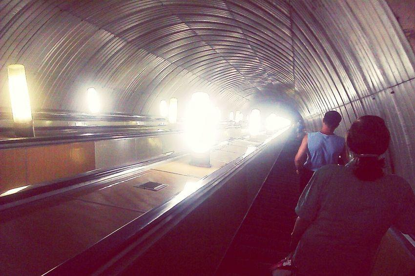 Кст, первый раз побывала в днепровском метро. Ахахах, 4е станции ;) Timetogo ДП