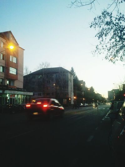 Evening in the city...