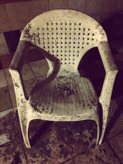 No People Indoors  Day Close-up Chair Antique Sitting Plastic Furnitures IPhoneography