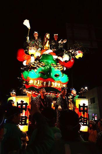 青獅子の中町が一番ノリがよくて楽しかった。 Karatsukunchi Saga,Japan Japan Japanese Festival Japanese Culture Enjoying Life Hello World Green