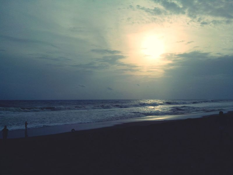 What Does Peace Look Like To You? Peaceful View An Evening Walk On The Beach Alone In The Beach when you watch the sea which spread wide and when you compare your peoblems is just tiny in front of this sea, that makes my mind and soul peaceful and giving me a new energy