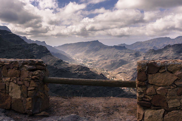 City Gran Canaria Islas Canarias Travel Beauty In Nature Cloud - Sky Day España Frame Landscape Mountain Mountain Range Nature No People Outdoors Physical Geography Scenics Sky Tranquil Scene Tranquility Travel Destinations