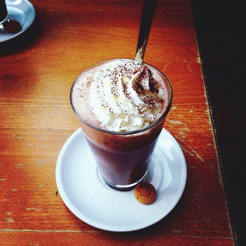 Heise Schokolade geniesen :) First Eyeem Photo