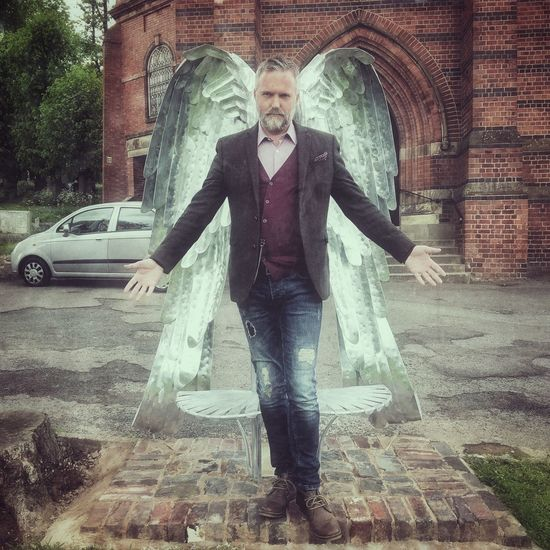 Fallen... Church Churchyard Angel Angel Or Devil? Angel Wings God Take Me To Church