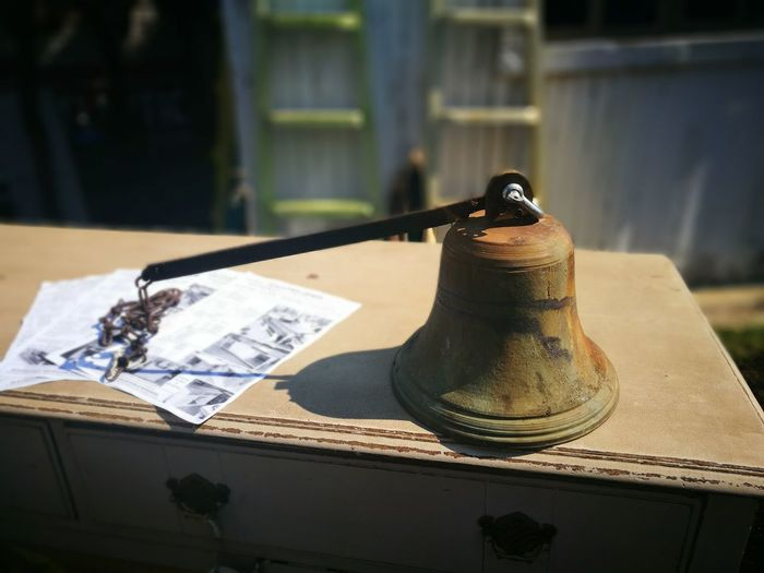 I found this antique bell fascinating Artiseverywhere No People ObjectPhotography Interesting