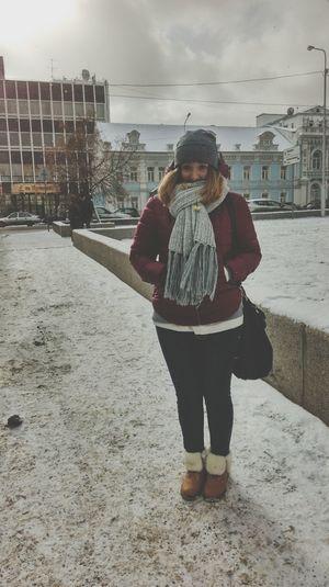 Пятница. Снег. Зима. Хорошее настроение Studying