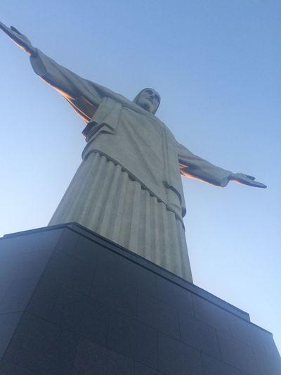 Rio De Janeiro Cristo Redentor-Río De Janeiro Brasil Copacabana Summer