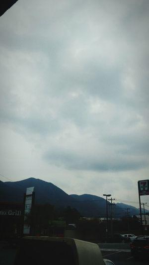 Simplemente esta nublado el dia