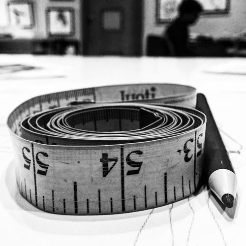Measuring tape..... Measuring Tape Measurement Point Close-up No People Technology Design Professional Rear View No People Close-up Day