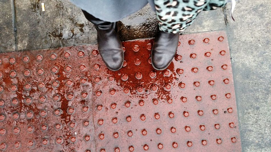 Singing In The Rain Street Photography Shoes Rainy Rainy Day Outdoor Photography Taking Photos Hanging Out Downtown Salem, Oregon Enjoying Life Puddle Jumping