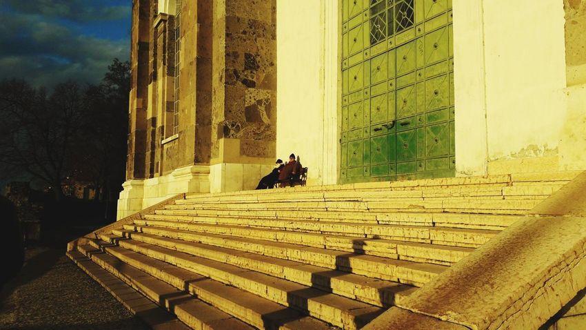 Elder Esztergom Esztergomi Bazilika Beautiful Architecture Buliding Hungary Light And Shadow Light Effect Light Evening