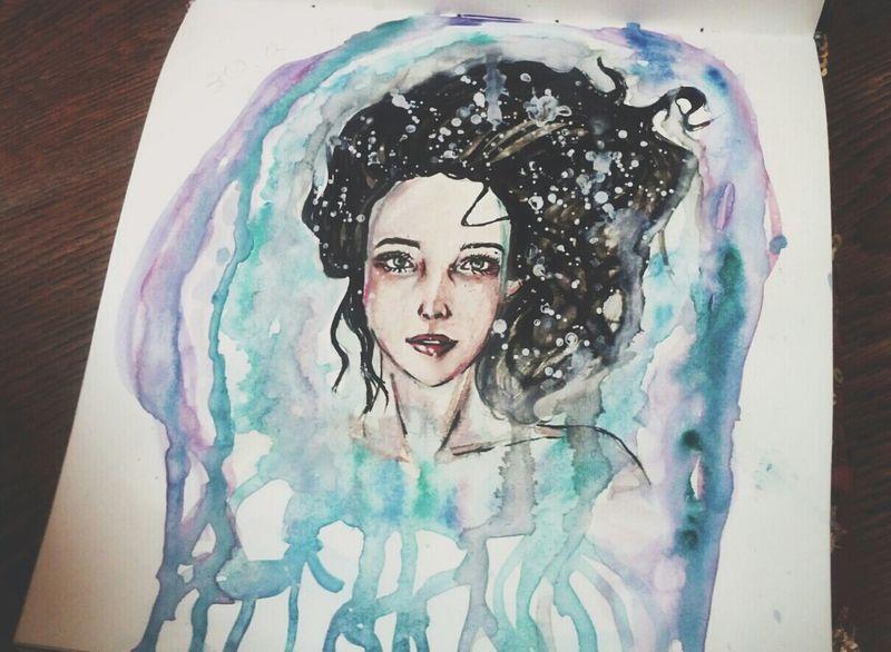 В кой-то веки новый рисунок с: Это девушка моего друга - Юля с: My Art Art Drawing Art, Drawing, Creativity Portrait Of A Friend