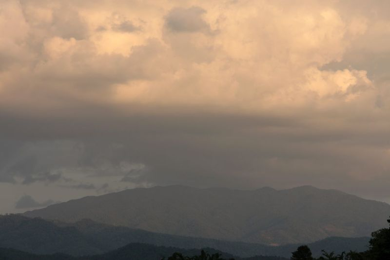 Sky And Clouds Mountains Rainy Days Landscape Outdoors No People in Pai Thailand North Thailand South East Asia