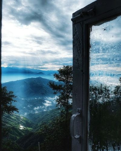 Right outside my window. The view. Nepal Travel Nature_collection Wonders Sun Morning Rays Of Light Cold Traveller Awesomeness Showcase July
