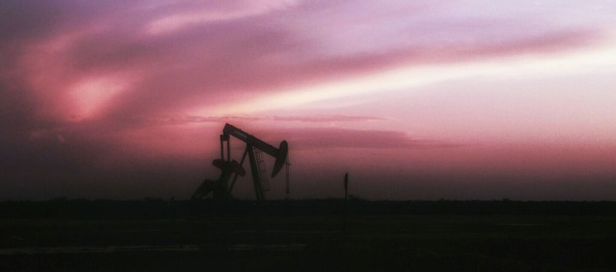 Eye4photography  Open Edit This Week On Eyeem Fine Art Photography Lg G4 Photography Photoart Sunrise_sunsets_aroundworld Sunset #sun #clouds #skylovers Sky Nature Beautifulinnature Naturalbeauty Photography Landscape [ [ [a:12016816] West Texas Oil Rig Oil Oil Wells Oilfiled Oilfield plains texas Energy Drilling Pump Jack Pump Jack With Sun Setting Behind It Color Palette