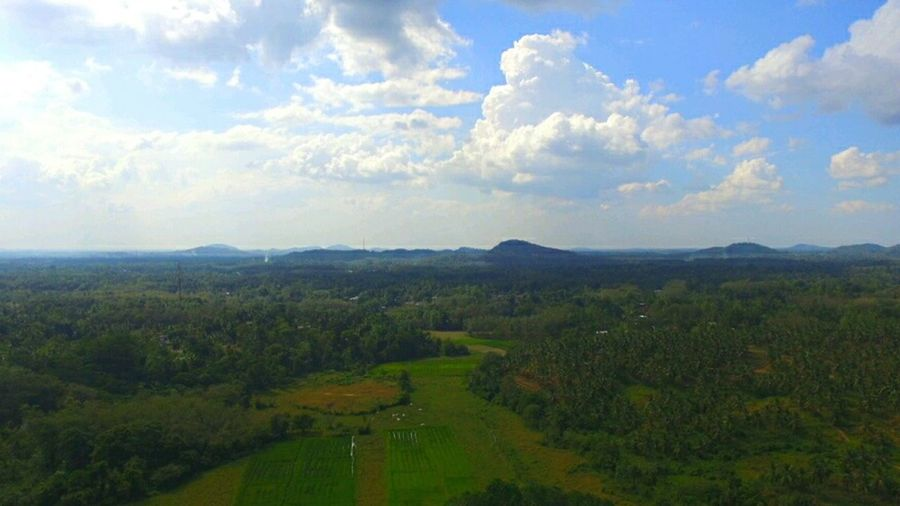 DJI X Eyeem Airial View Airial Photography Airial Shot Sky_collection Sky And Clouds Agriculture Cloud - Sky Landscape Nature Rural Scene Sky Field