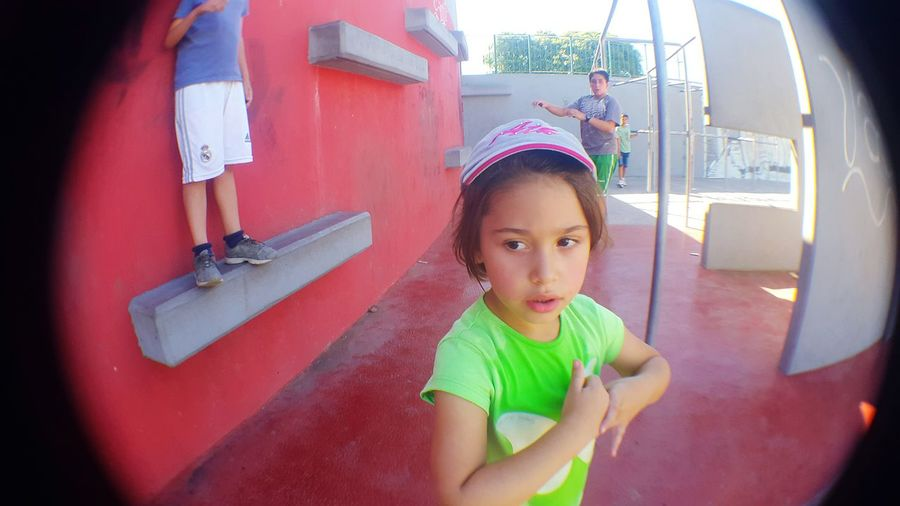 My Little Daughter Parkour Healthy Life Healthy Lifestyle My Daughter ❤️ Healthy Lifestyles At The Park⛳ Hat Little Girl Doing Exercise  A Day At The Park At The Park .  At The Park My Daughter At The Park <3 Fitness Training