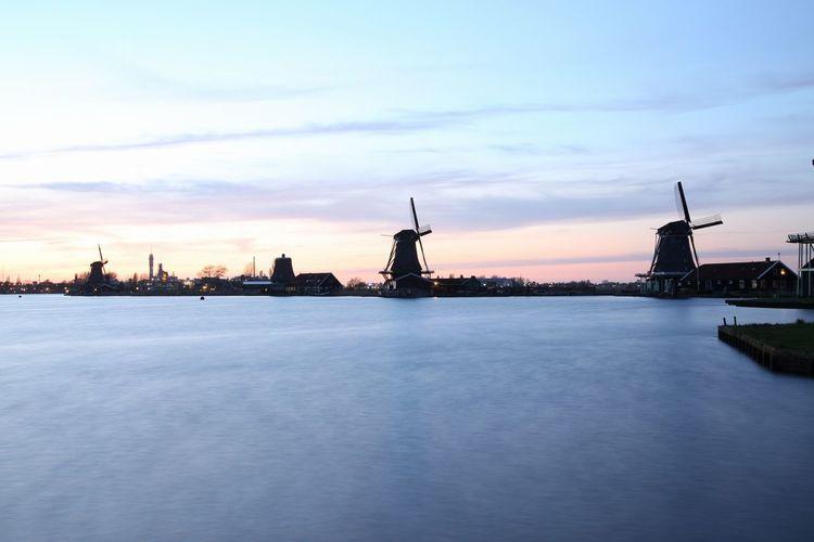Holland windmill Holland Hollandseluchten Sky Sky_collection Landscape_Collection Windmill Windmill Of The Day Windmills #photography
