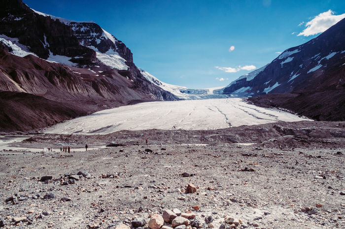 IceField Icefields Parkway Beauty In Nature Canada Cold Temperature Day Glacier Glaciers Icefields Icefieldsparkway Landscape Mountain Mountain Range Nature No People Non-urban Scene Outdoors Rocky Mountains Scenics Sky Snow Snowcapped Mountain Tranquil Scene Tranquility Winter