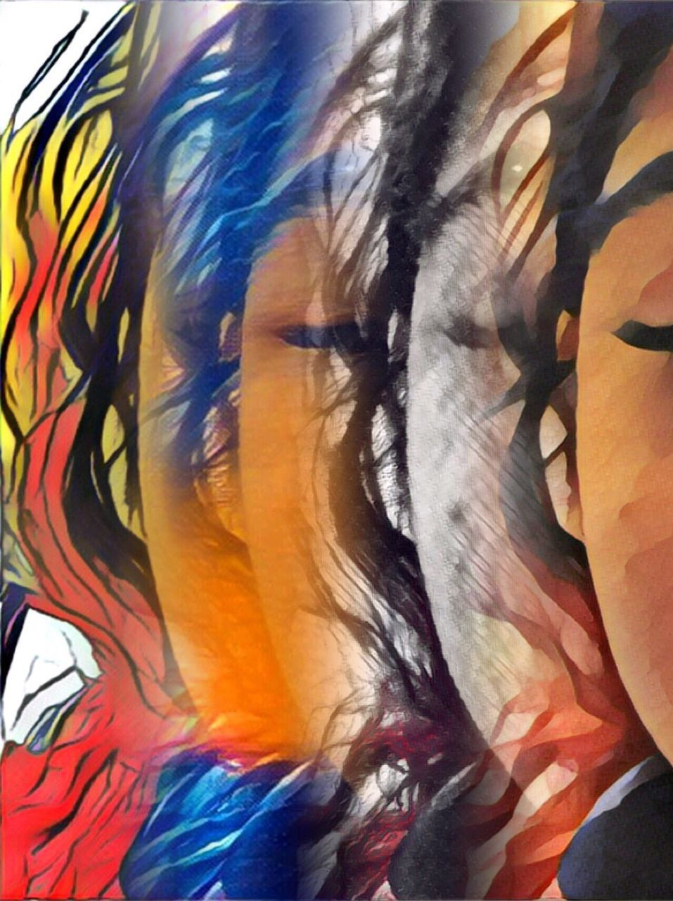 multi colored, art and craft, backgrounds, abstract, painted image, full frame, creativity, textured, arts culture and entertainment, paint, artist, fine art painting, sketch, human body part, people, close-up, adult, young adult, one person, day