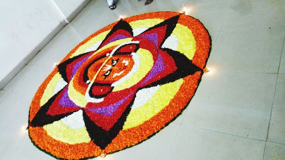 Let's celebrate ONAM with colors Onamspecial Athapookkalam Colors