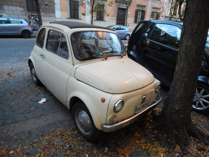 Moving Around Rome VaticanCity Car Day Microcar Mode Of Transport No People Outdoors Parking Stationary Transportation