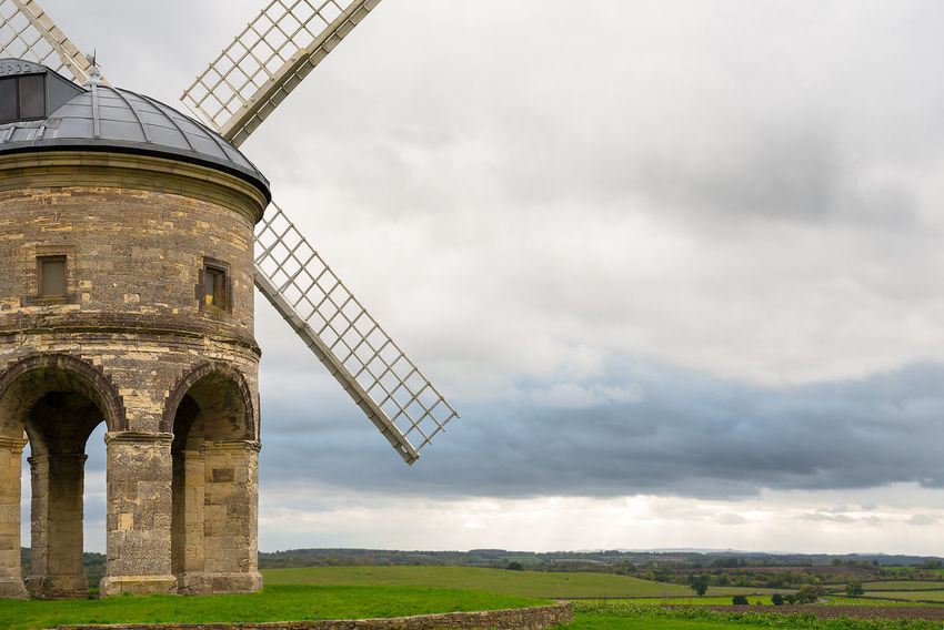 The 17th Century Chesterton Windmill on top of the hill near Chesterton, Warwickshire. Farmland Grade 1 Listed Building Chesterton Windmill Cloud - Sky Countryside Day Field Hill Top Industrial Windmill Landscape Nature No People Outdoors Rural Scene Sky Traditional Windmill Wind Power Wind Turbine Windmill
