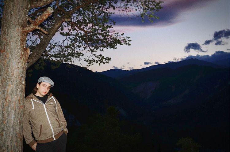That's Me Bonaduz Sunset Night Photography