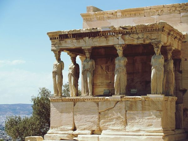 Greece Athens Greece Acropolis Parthenon Historical Monuments History Karuatides Holidays In Greece ❤ In Greece ❤