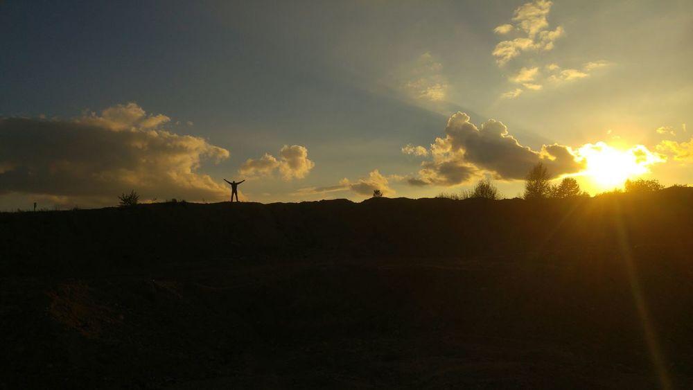 Sunset Sunlight Sky Cloud - Sky