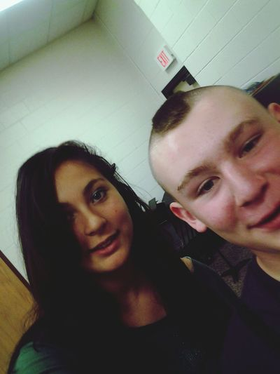 Me and my other band bestie nick! Selfies!