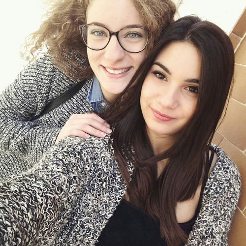 Hi! Hello World Sunday That's Me My Girl Girls Guys Friend Friendship Love Truelove Enjoying Life Finally Together Cheese! Life Photooftheday Followme Likeforlike Followforfollow Photo Brunette And Blonde Finalmenteinsieme