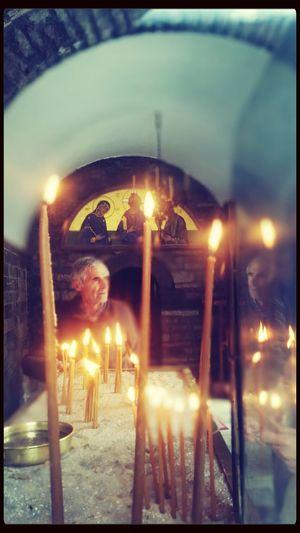 Praying Greece Sunday Mass Praising The Lord