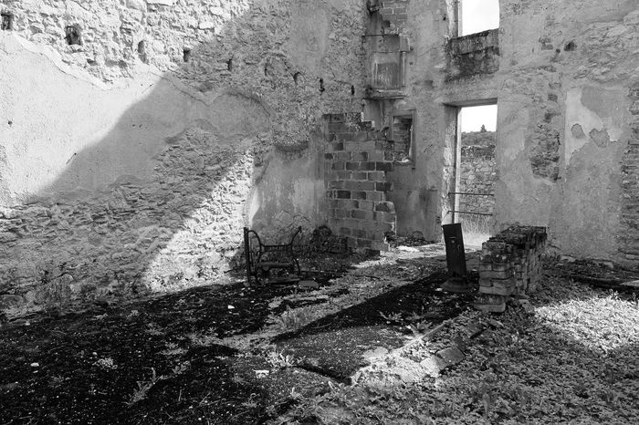 Remains of the past Abandoned Architecture Built Structure Damaged Day Destruction No People Old Ruin Old Shop Remains Of Past Times