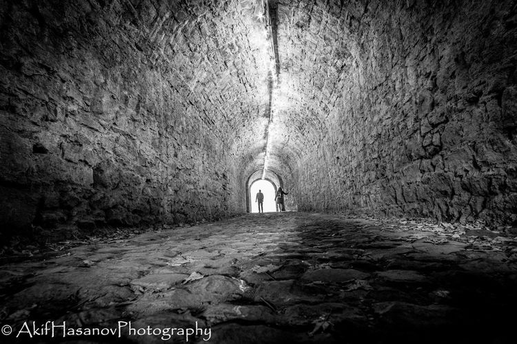 Belgium, Namur Arch Architecture Light At The End Of The Tunnel People Real People The Way Forward Tunnel