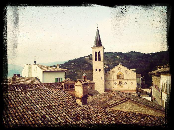 la vicina Spoleto