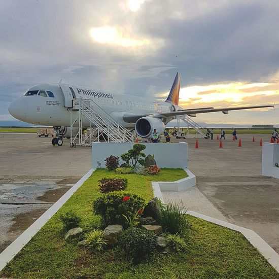 Airbus A320-200 New Talent First Eyeem Photo No People Airplane Cloud - Sky Transportation Air Vehicle Connection Sky Outdoors Day Sunrise Travel Travel Photography Tacloban City Leyte Philippines Island Life Airport Airbus Airbus A320 Nature Aerospace Industry AirPlane ✈ Aircraft Wing Eyeem Philippines EyeEmNewHere Adapted To The City Miles Away