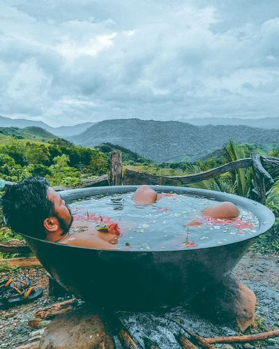 kawa bath Kawabath Treasure Mountain Tanay Rizal Water Mountain Lake Sky Landscape Mountain Range