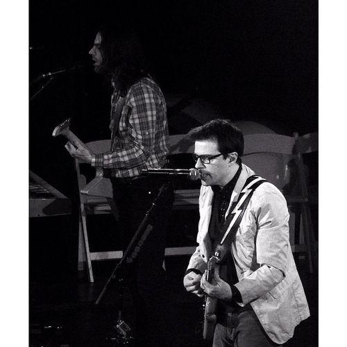 Weezer Cruise 2014 - Show A Brian Bell & Rivers Cuomo WEEZER Weezercruise Riverscuomo Brianbell Gig Live Music Sony Sonyhx50 HX50 Monikasmithphotography