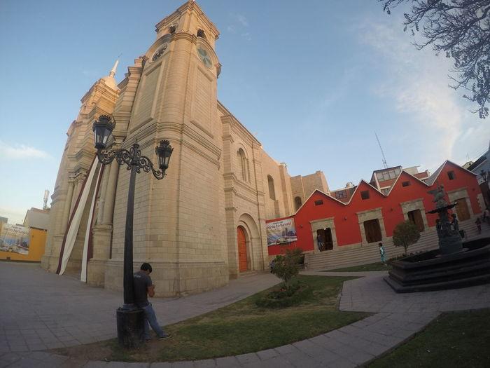 Catedral de Santo Domingo en la ciudad de Moquegua. Architecture Catedral De Moquegua, Per Moquegua Peru Religion Spirituality Travel Destinations