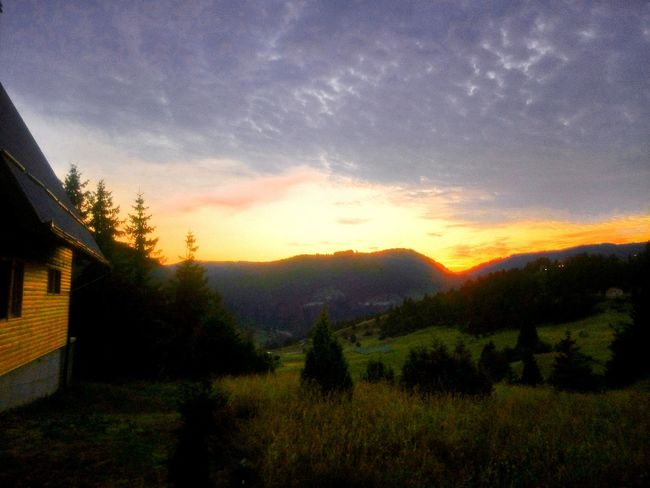 Vlasic Mountain Sunrise Relax Morning Beautiful Nature Beautiful View Sky And Clouds Weekendhouse